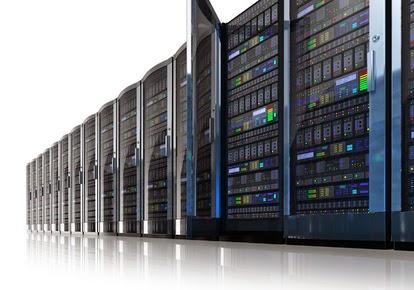datacenter server racks Image