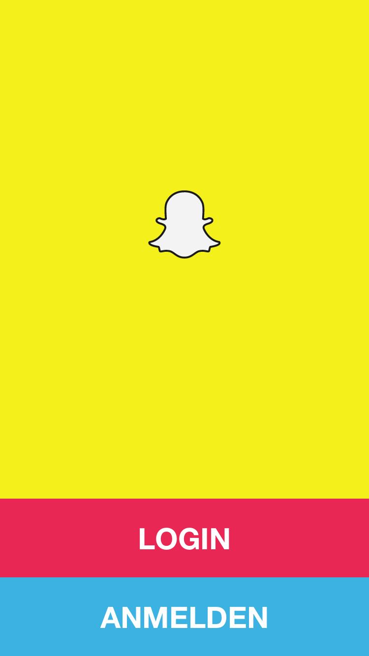 Snapchat ist nur per Smartphone App zugänglich