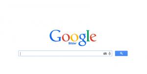 Screenshot Google Bilder Startseite