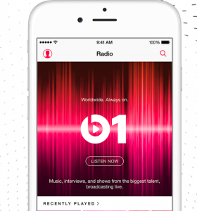 iphone mit itunes app und beats 1