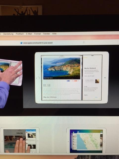 WWDC 2015 Keynote von Apple