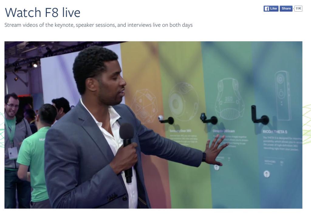 Facebook 360 Grad Video Unterstützung