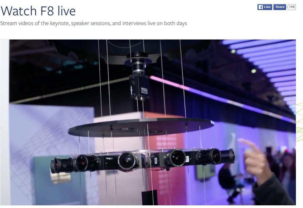 facebook 17 Kamera Array
