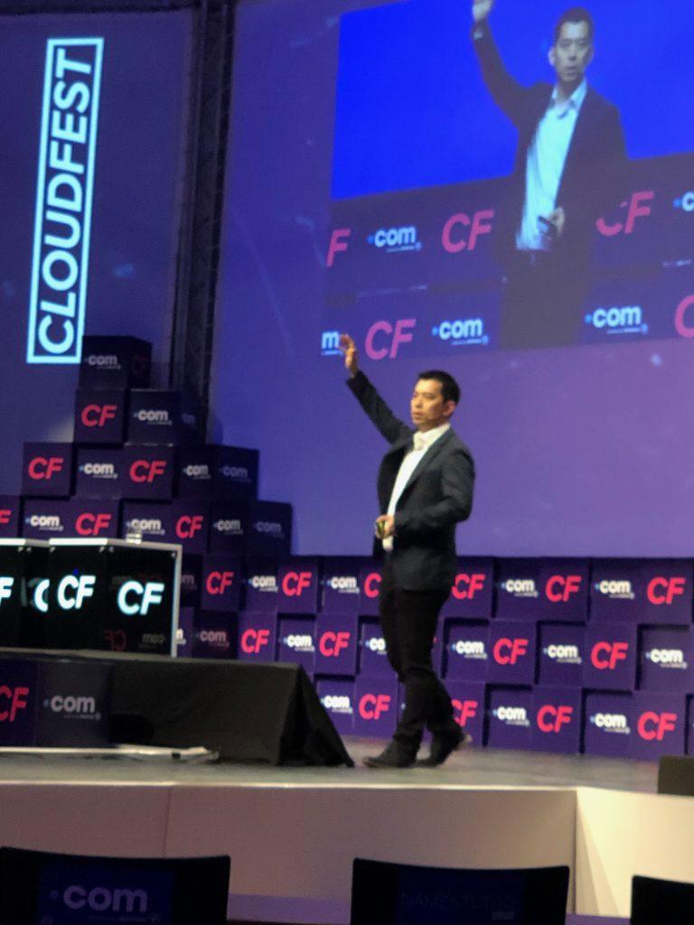 Alibaba Cloud beim Cloudfest 2019